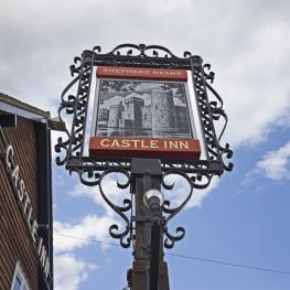 Castle Inn - Bodiam - Exterior - Sign