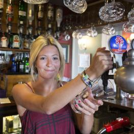 Castle Inn - Bodiam - Interior - Bar - Staff